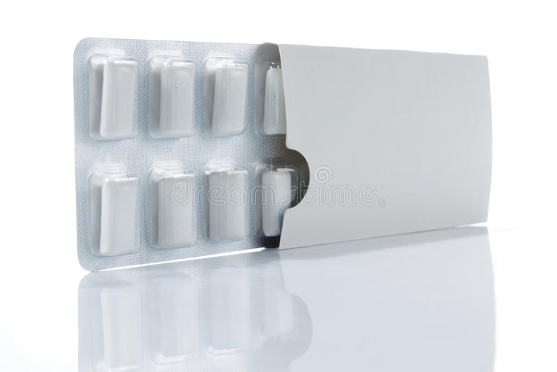 pudełkowaty guma do żucia zdjęcie royalty free