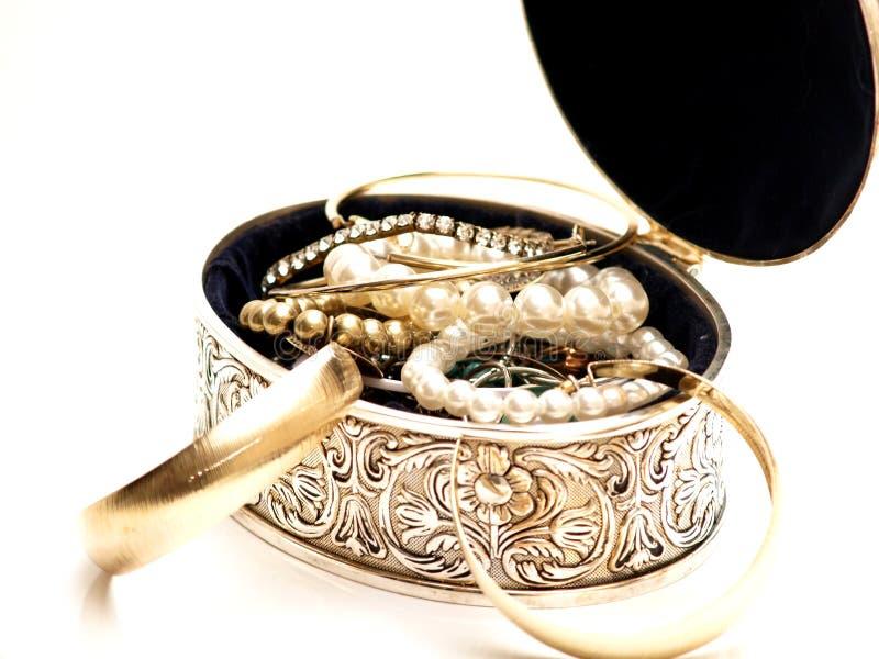 pudełkowaty jewelery zdjęcia stock