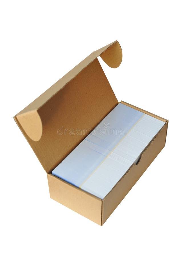 pudełkowaty karton zdjęcia stock