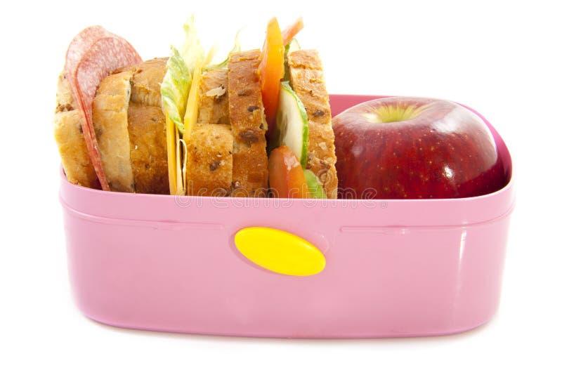 pudełkowaty lunch fotografia royalty free