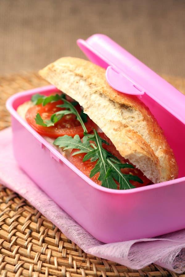 pudełkowaty lunch obrazy stock