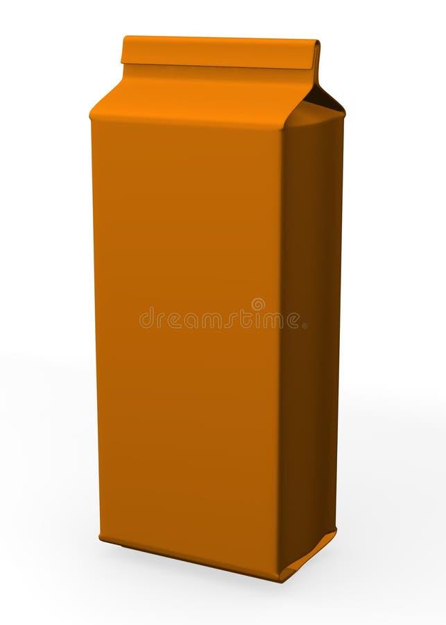pudełkowaty makaron ilustracji