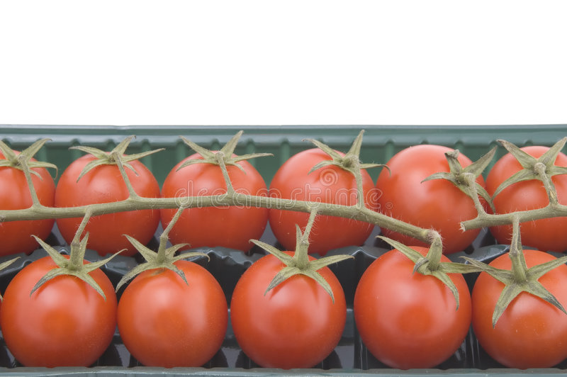pudełkowaty makro- pomidor zdjęcia royalty free