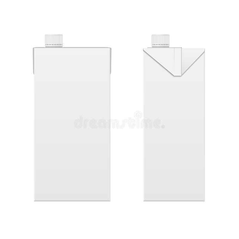 pudełkowaty mleko ilustracja wektor