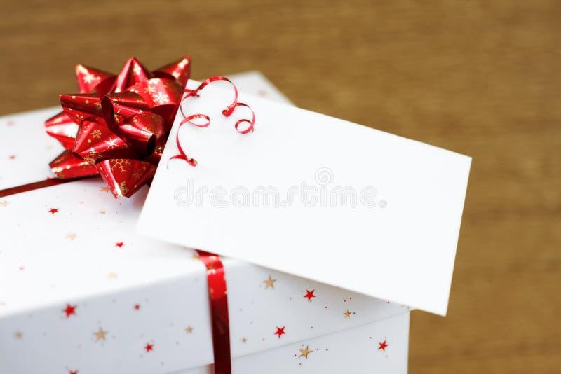 pudełkowaty prezent zdjęcia stock