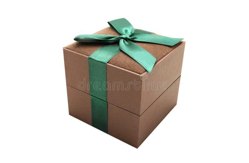 pudełkowaty prezent fotografia royalty free