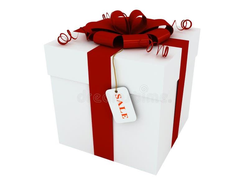 pudełkowaty prezent ilustracja wektor