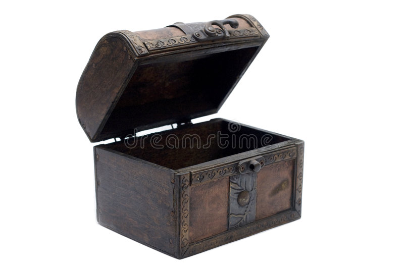 pudełkowaty stary zdjęcie stock