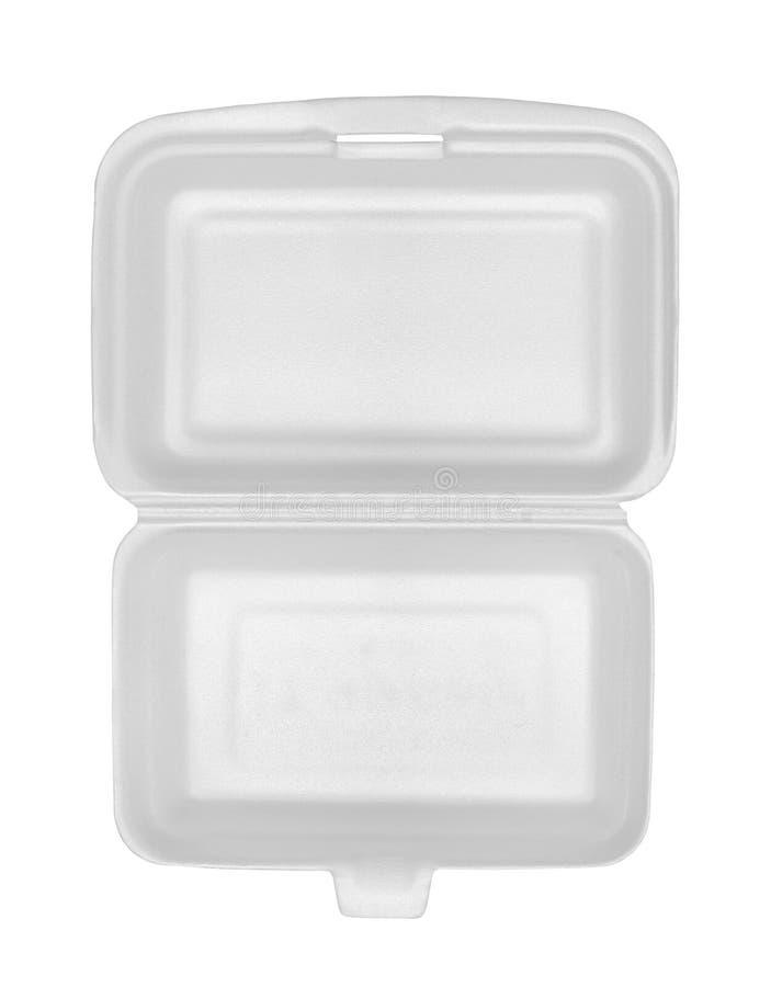 pudełkowaty styrofoam obrazy royalty free