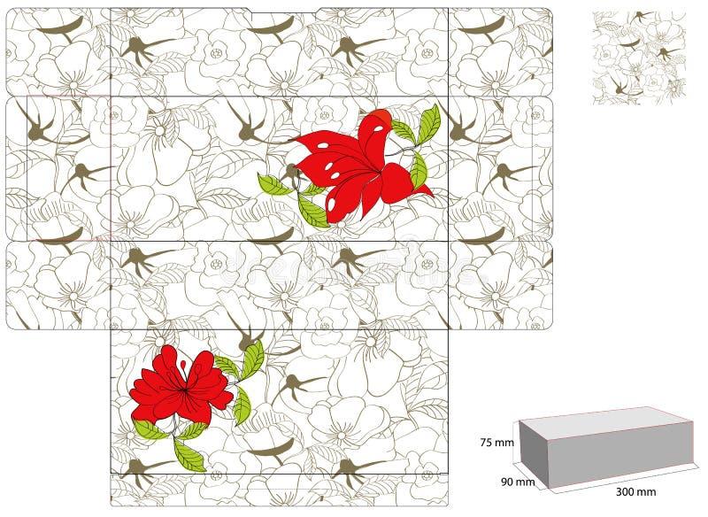pudełkowaty szablon ilustracji