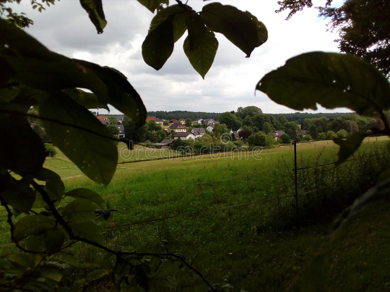 Puderbach photographie stock