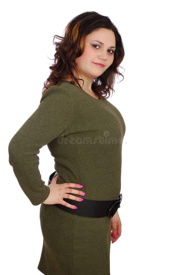 Free Pudgy Girl Posing Royalty Free Stock Image - 13493846