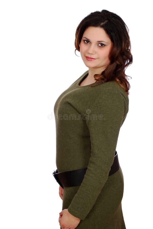 Free Pudgy Girl Posing Stock Photos - 13697873