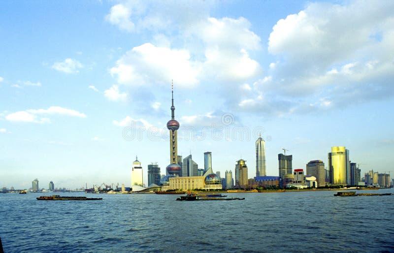 pudong上海 库存图片