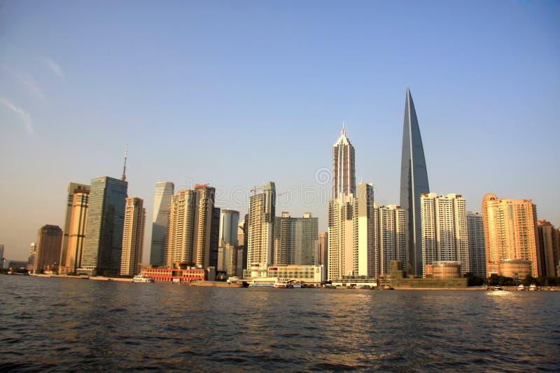 Pudong de Lujiazui, Shangai fotos de archivo