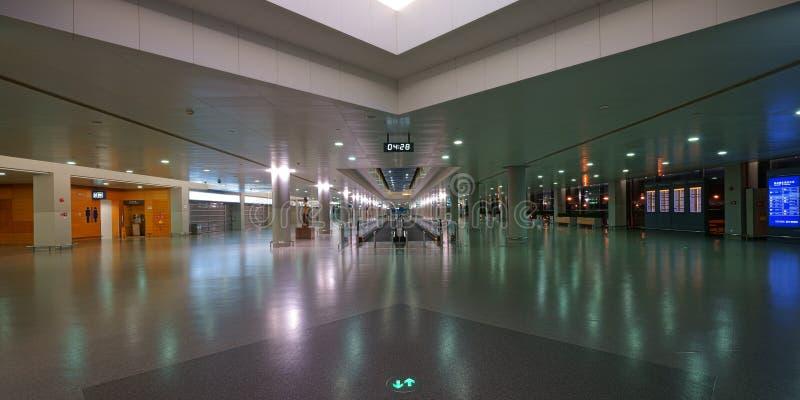 pudong shanghai авиапорта международное стоковая фотография rf