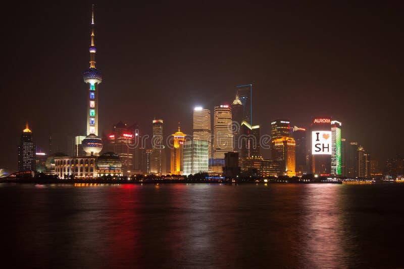 pudong shanghai 2011 arkivfoto