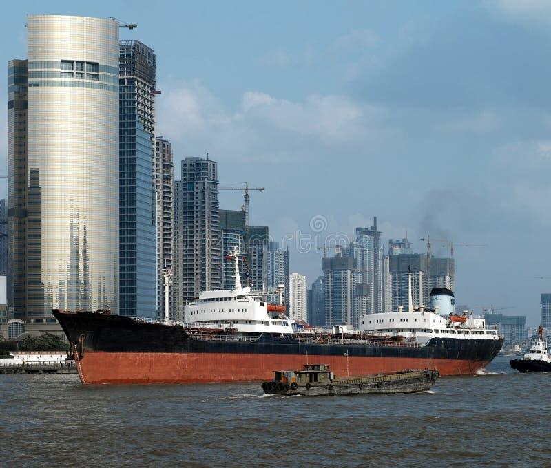 - Pudong - Shanghai - China de envio imagens de stock
