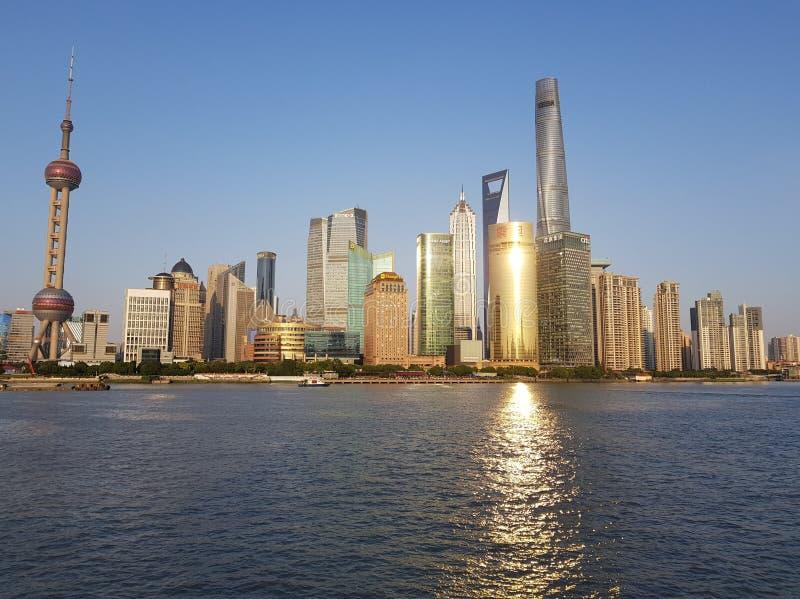 Pudong, Shanghai lizenzfreie stockbilder