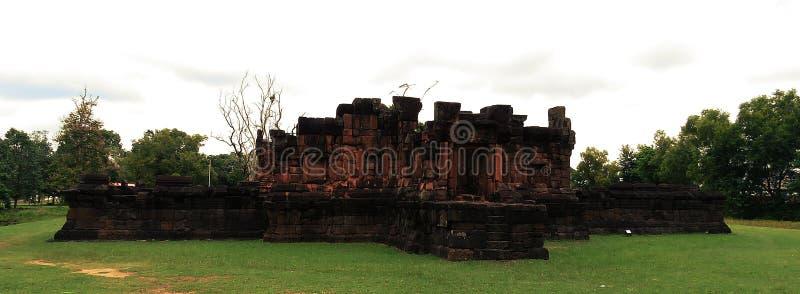 Pueainoi van kasteelpueai Noi/Ku bij khon-Kaen stock foto