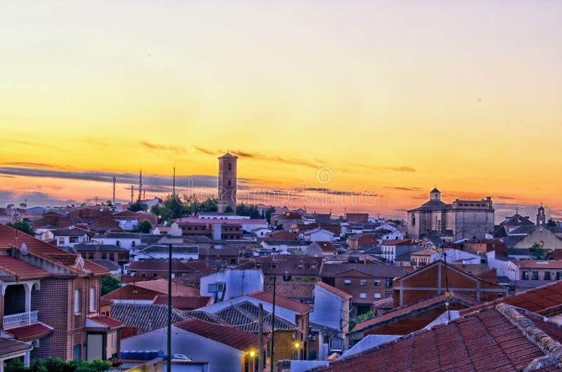 Puebla de Montalban photo libre de droits