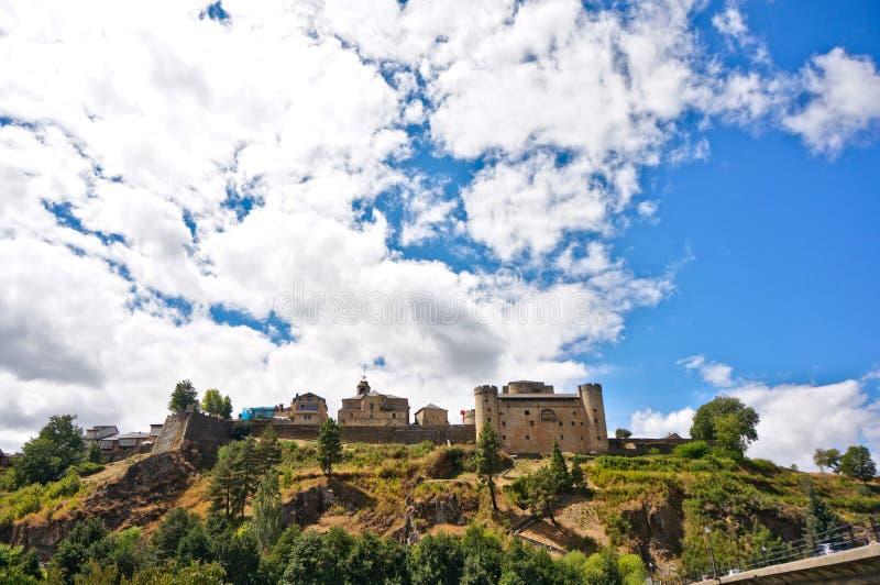 Puebla De Sanabria zdjęcie stock
