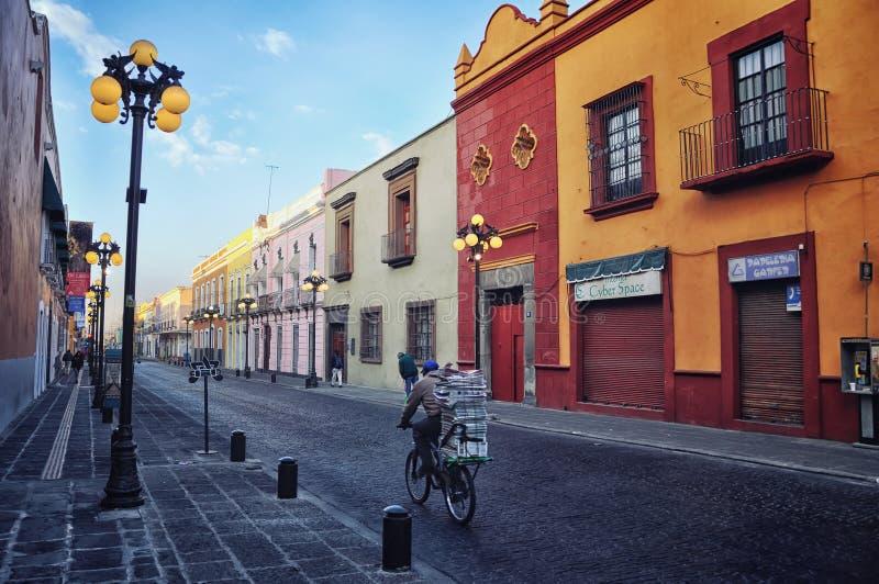 Puebla-De Saragossa, Mexiko lizenzfreie stockfotos