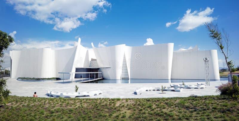 Puebla Meksyk, Sierpień, - 29th, 2016: Barokowy muzeum, Museo stażysta zdjęcia royalty free