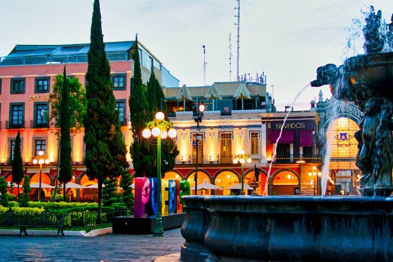 Puebla, Mexico Architecture stock image