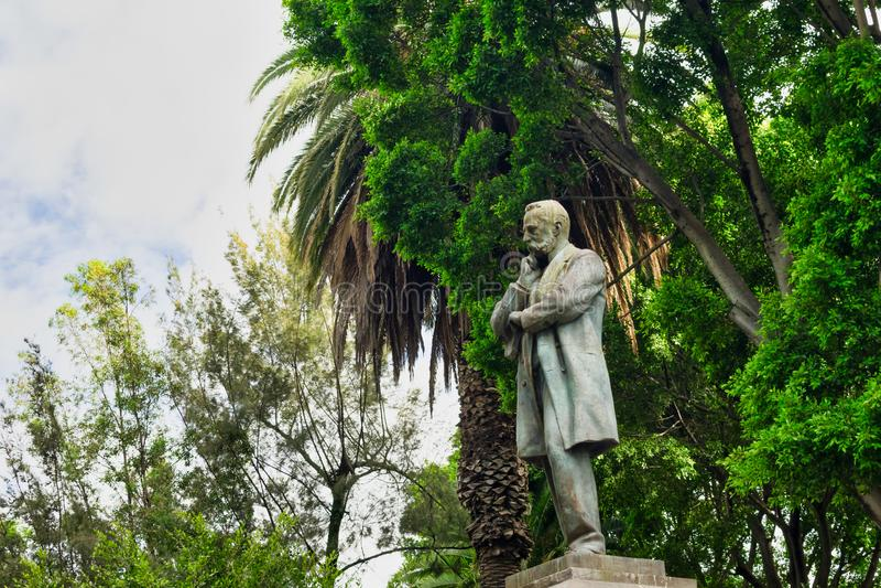 Puebla, Mexiko-Statue lizenzfreie stockfotografie