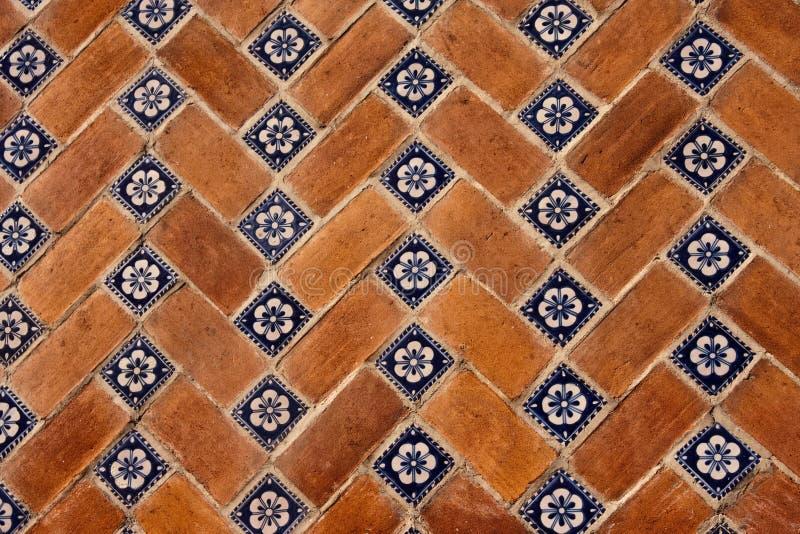 Puebla tiles stock images