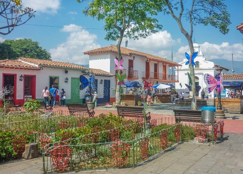 Pueblito Paisa Medellin Colombie photos stock
