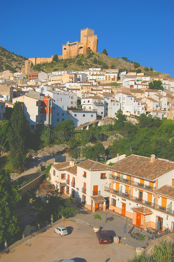 pueblo κάστρων blanco στοκ φωτογραφία