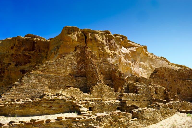 Pueblo Bonito royalty free stock image
