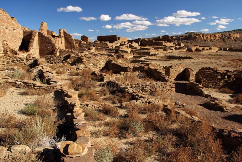 Pueblo Bonito Ruins stock images