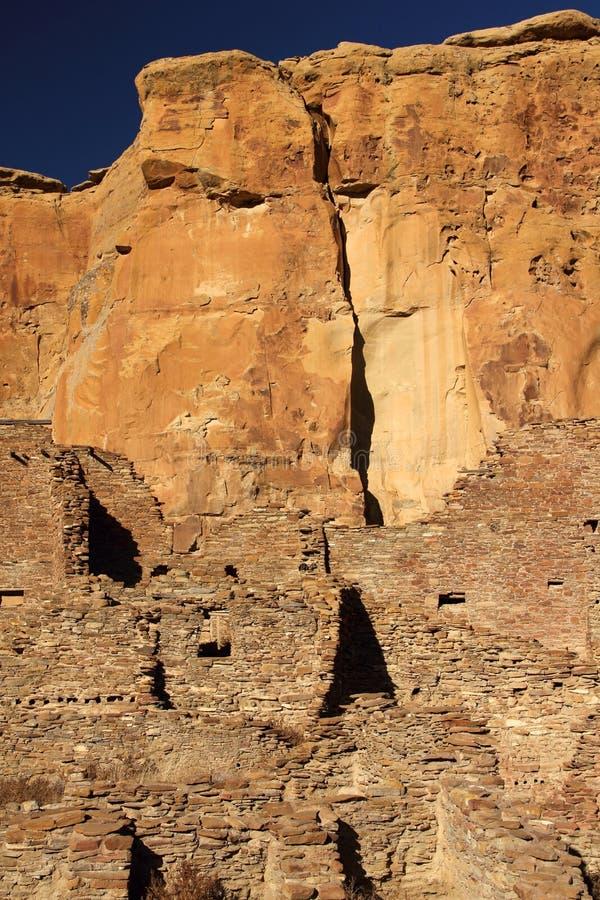 Pueblo Bonito Ruins royalty free stock image