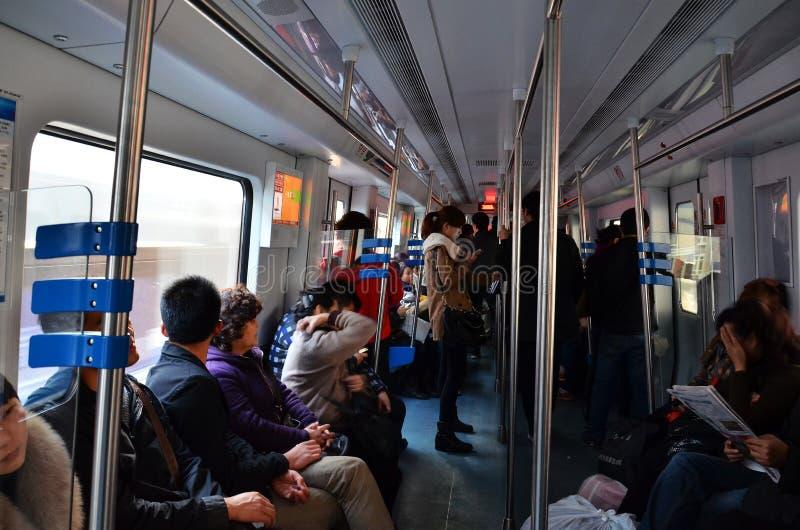 Pueblo chino en carril ligero imágenes de archivo libres de regalías