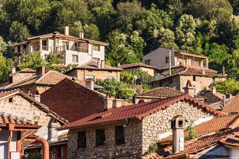 Pueblo de Bachkovo, Bulgaria imagen de archivo libre de regalías