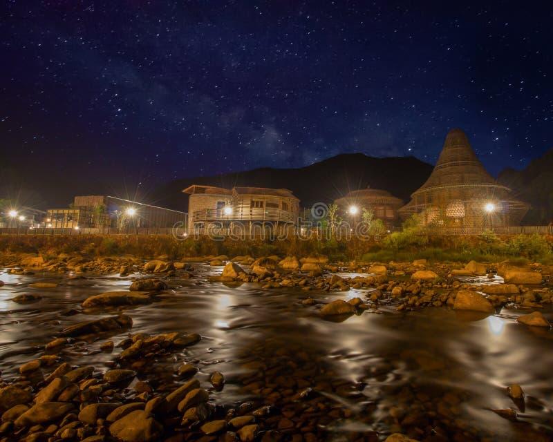 Pueblo de BaoXi en Zhejiang China foto de archivo libre de regalías