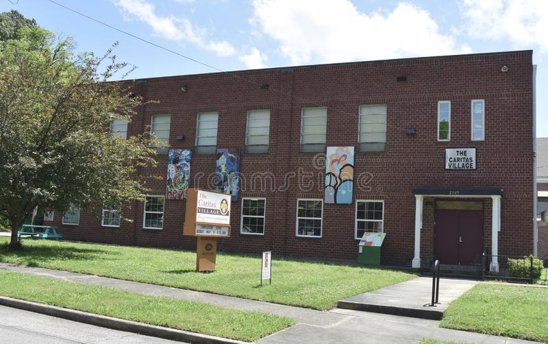 Pueblo de Caritas, Memphis, TN fotografía de archivo libre de regalías