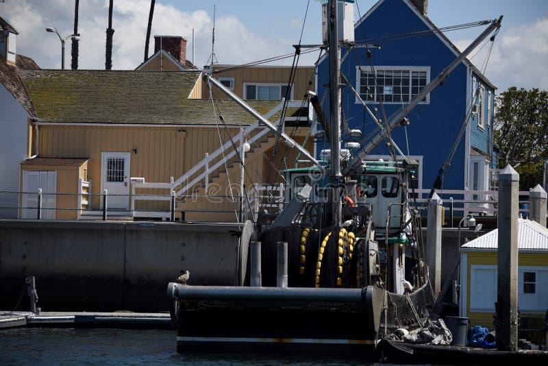 Pueblo de Fishermans en Marina del Rey fotografía de archivo libre de regalías