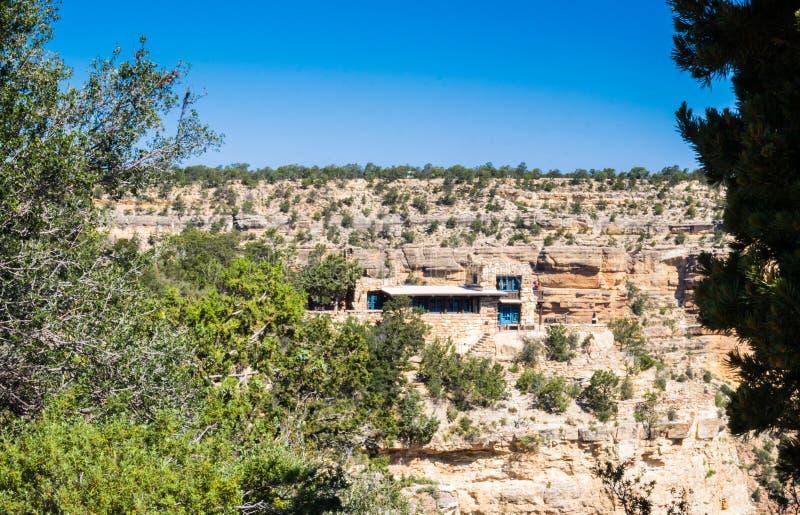 Pueblo de Grand Canyon, Arizona Viaje al parque nacional de Grand Canyon imágenes de archivo libres de regalías