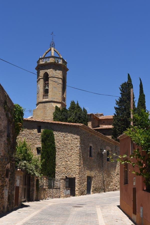 Pueblo de Jafre Baix Emporda, provincia de Girona, imagen de archivo libre de regalías