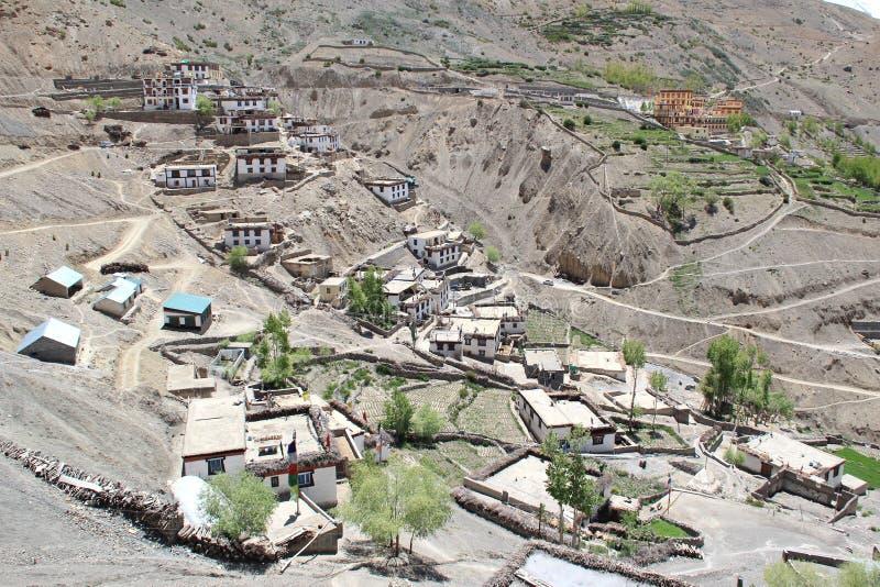 Pueblo de Kibber imagen de archivo