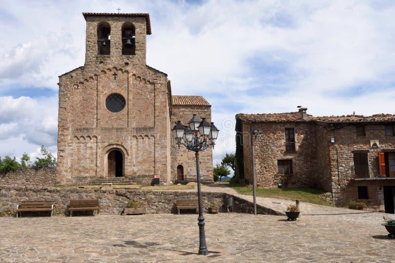 Pueblo de Sant Jaume de Frontenya, fotos de archivo libres de regalías