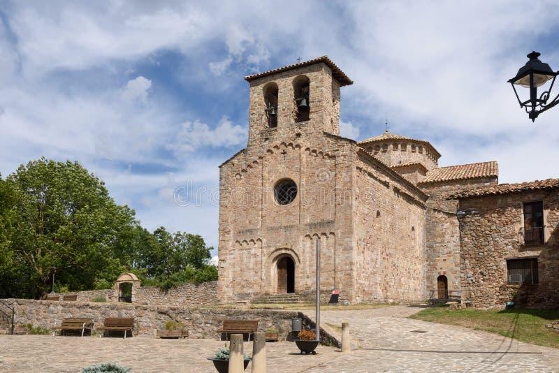 Pueblo de Sant Jaume de Frontenya, imagen de archivo libre de regalías
