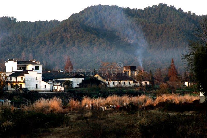 Pueblo de Wu Yuan en China imagenes de archivo