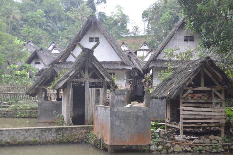 Pueblo del Naga de Kampung fotografía de archivo
