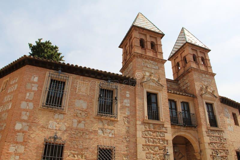 Pueblo Espanol Palma de Mallorca Spain lizenzfreie stockfotografie