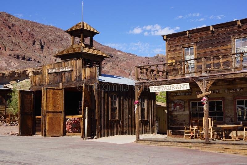 Pueblo fantasma de Death Valley fotografía de archivo